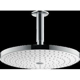 Верхний душ hansgrohe Raindance Select S 300 2jet потолочный, белый/хром 27337400