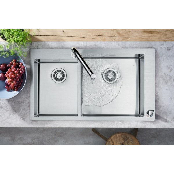 фото - Кухонный комплект hansgrohe C71-F655-09, сталь 43206800