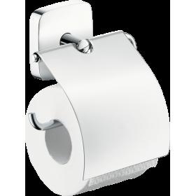 Тримач туалетного паперу hansgrohe PuraVida з кришкою 41508000