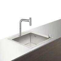 Кухонный комплект hansgrohe C71-F450-06, хром 43201000