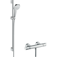 Душевой набор Croma Select E Vario/Ecostat Comfort Combi 0,90 м, белый/хром 27082400