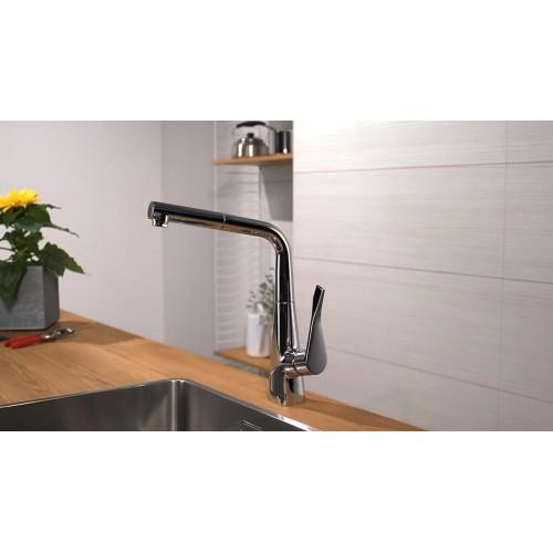 фото - Смеситель hansgrohe Metris для кухонной мойки 14821000