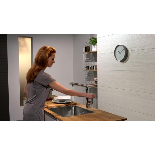 фото - Смеситель hansgrohe Metris Select для кухонной мойки 14884000