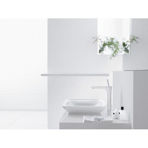 фото - Смеситель hansgrohe PuraVida для раковины в форме таза, белый/хром 15072400