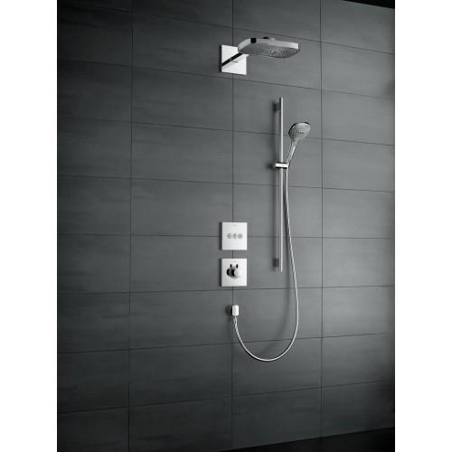 фото - Термостат hansgrohe ShowerSelect Highflow для душа 15760140 бронза матовый