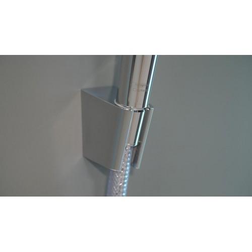 фото - Душовий набір hansgrohe Crometta Vario 125, білий/хром 26691400