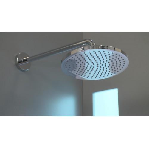 фото -  Душова система hansgrohe Crometta S 240 1jet Showerpipe з термостатом, хром 27267000