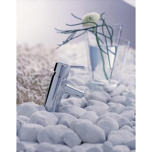 фото - Смеситель hansgrohe Talis S для раковины со сливным гарнитуром, хром 32020000