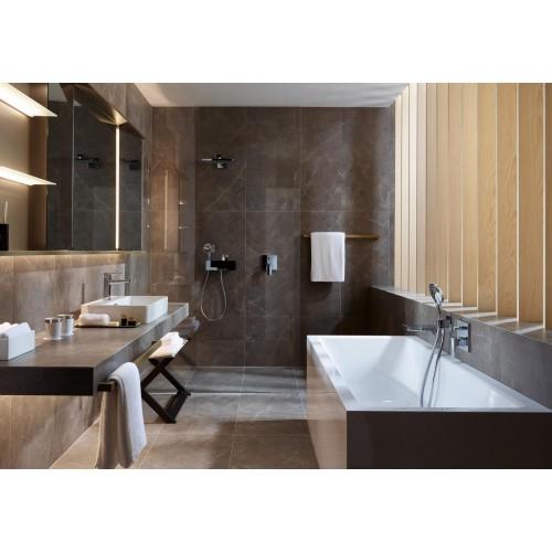 фото - Смеситель hansgrohe Metropol для ванны настенный скрытый с рычаговой рукояткой, хром 32545000