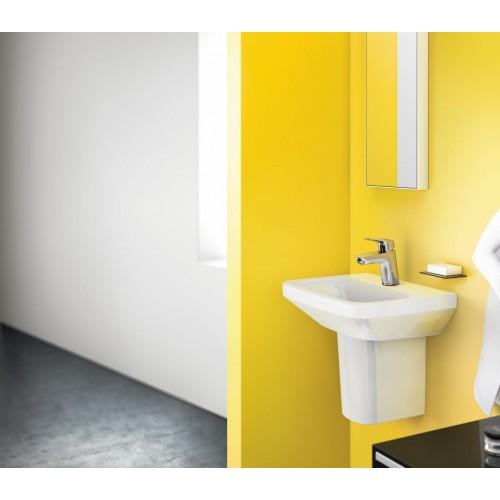 фото -  Змішувач hansgrohe Logis для раковини із зливним клапаном Push-Open, хром 71077000