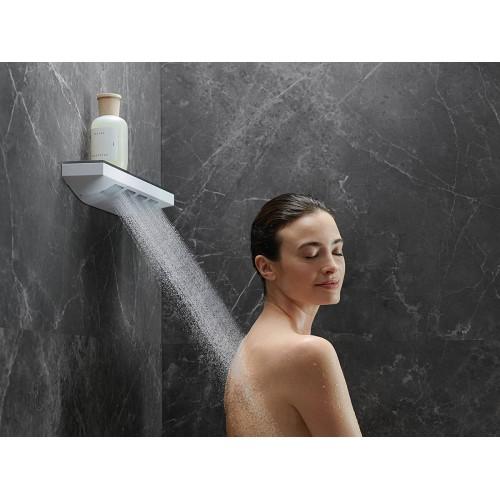 фото -  Верхній душ hansgrohe Rainfinity 360 3jet з настінним з'єднувачем 26234700